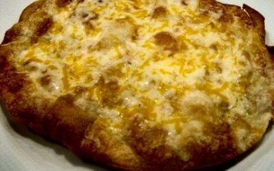 Cheese Crisp (Crisp Quesadilla)