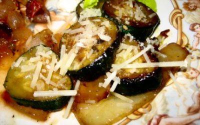 Pan Roasted Zucchini